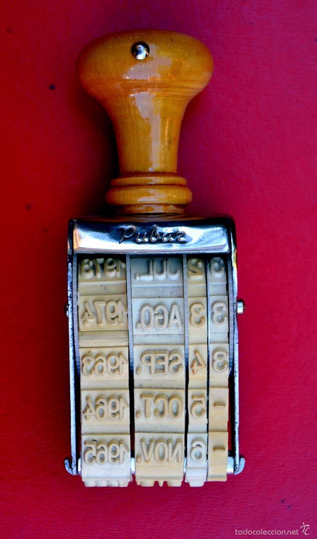 FECHADOR MARCA PUBAR SIN USO (Vintage - Varios)