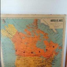 Vintage: ANTIGUOS MAPAS DE AMERICA DE SEIX BARRAL. Lote 58228178