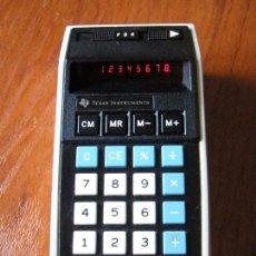 Vintage: CALCULADORA LEDS ROJOS TEXAS INSTRUMENTS TI-2550 TI2550 FUNCIONANDO. Lote 58462130