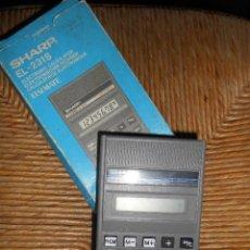 Vintage: SHARP EL -231S -FUNCIONA -CARGA POR ENERGIA SOLAR-. Lote 58480815