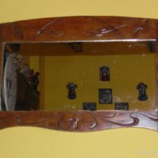Vintage: ** BONITO ESPEJO VINTAGE DE MADERA AÑOS 50/60 **. Lote 58494014