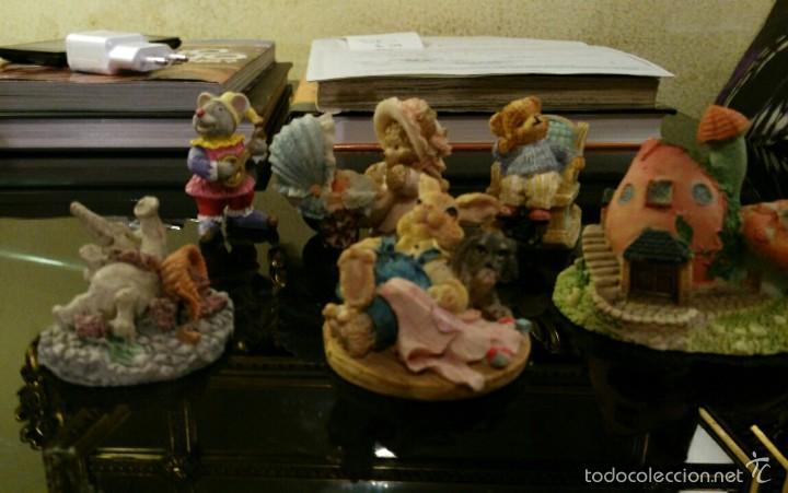 Vintage: espectacular lote de figuras de resina - Foto 4 - 58579952