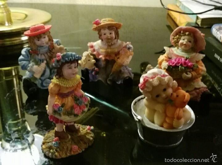 Vintage: espectacular lote de figuras de resina - Foto 8 - 58579952