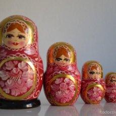 Vintage: MUÑECAS RUSAS MATRIOSKAS. Lote 58629010