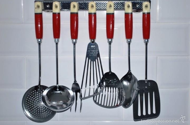 espectacular juego de utensilios de cocina vint - Comprar en ...