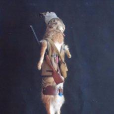 Vintage: INCREIBLE TAXIDERMIA CAZADORES - OJO A MISTER RABBIT- DECO VINTAGE TROFEO DE CAZA. Lote 58923220