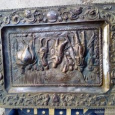 Vintage: PLATO BANDEJA ESCENA RENDICION DE BREDA. Lote 59539059