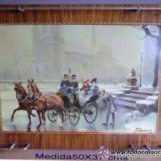 Vintage: PRECIOSA BANDEJA MESITA AUXILIAR VINTAGE AÑOS 60/70 IDEAL DECORACIÓN. Lote 59901587