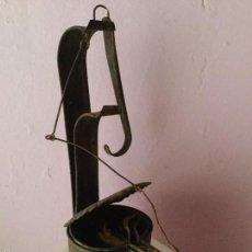Vintage: ANTIGUO CANDIL DE ACEITE. HECHO A MANO. Lote 58814991