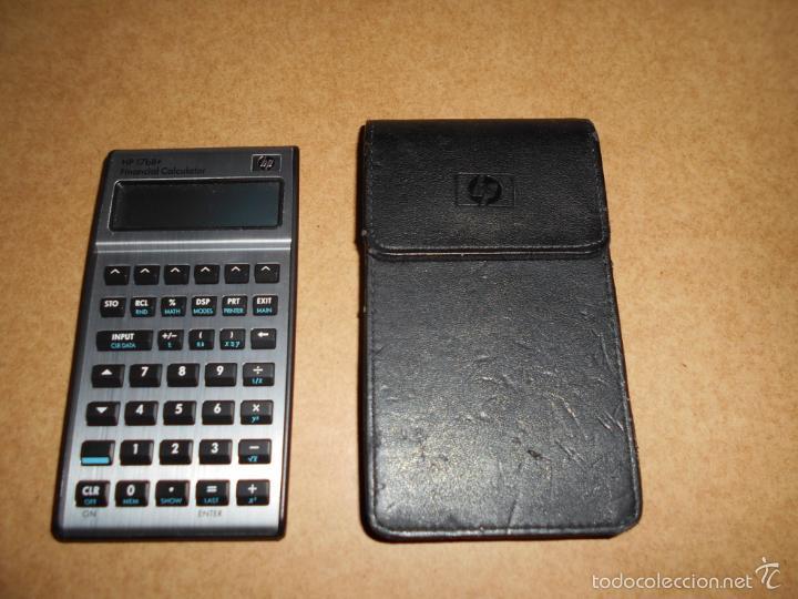 Vintage: Calculadora Empresarial Financiera HP 17bII+ CON FUNDA DE PIEL FUNCIONANDO POCO USO - Foto 2 - 60845995