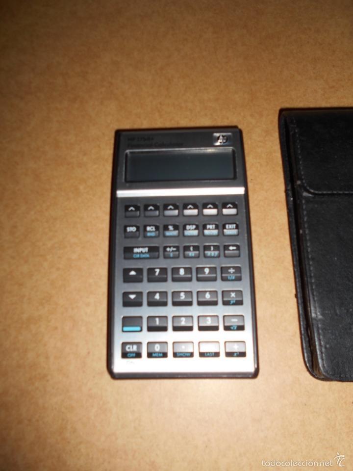 Vintage: Calculadora Empresarial Financiera HP 17bII+ CON FUNDA DE PIEL FUNCIONANDO POCO USO - Foto 3 - 60845995