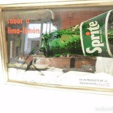 Vintage: ESPEJO PROPAGANDA SPRITE DE COCA COLA AÑOS 80. Lote 61418211