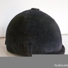 Vintage: ANTIGUO CASCO DE MONTAR A CABALLO PARA NIÑO. Lote 62665484
