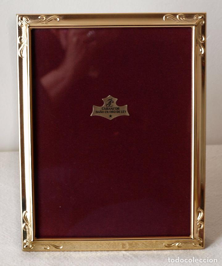 marco de fotos isabel cabanillas bañado en oro - Comprar en ...