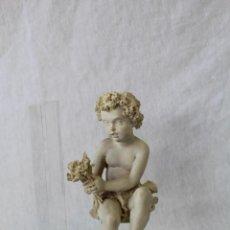 Vintage: ANGEL SUJETALIBROS EN RESINA Y METACRILATO. Lote 63277060