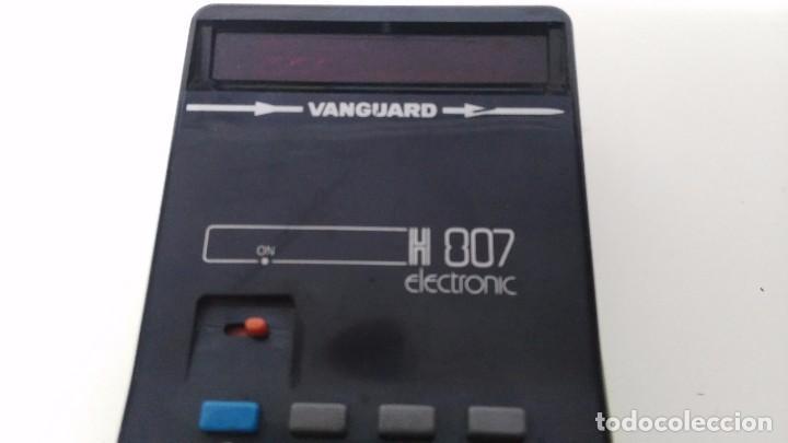 Vintage: antigua calculadora vanguard h 807 - Foto 2 - 63706319