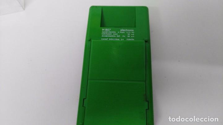 Vintage: antigua calculadora vanguard h 807 - Foto 4 - 63706319