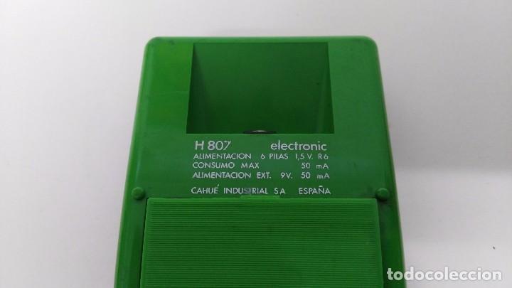 Vintage: antigua calculadora vanguard h 807 - Foto 5 - 63706319