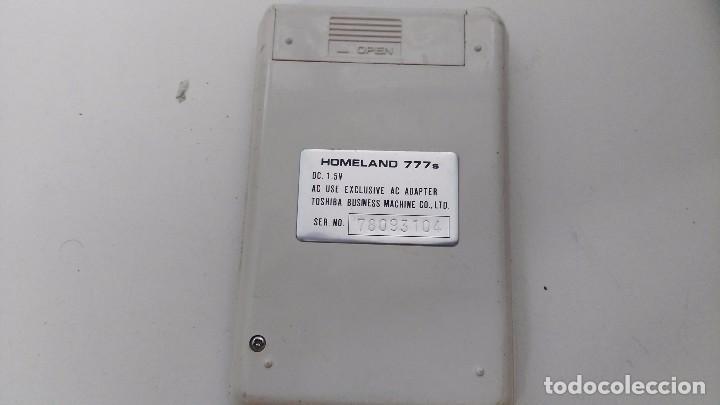 Vintage: antigua calculadora homeland 777s - Foto 3 - 63715567
