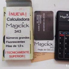 Vintage: ANTIGUA CALCULADORA MAGICLIKC 343. Lote 63716243