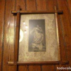 Vintage: MARCO CRUCERO CON GRABADO. Lote 63788535