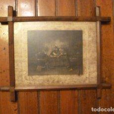 Vintage: MARCO CRUCERO CON GRABADO. Lote 63788643