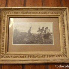 Vintage: MARCO CON LAMINA. Lote 63788999