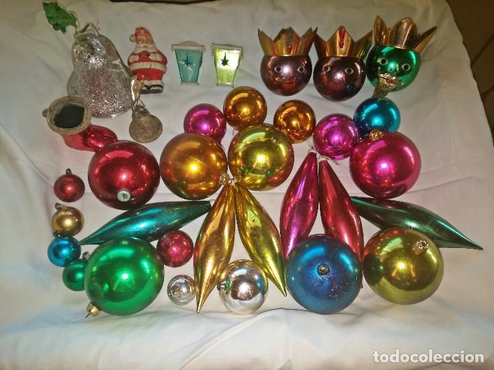 Lote de 25 adornos variados para arbol de navid comprar for Buscar adornos de navidad