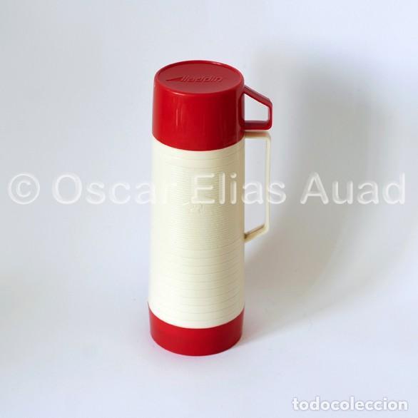 Vintage: Antiguo termo para líquidos. De tres piezas. Marca Aladdin Dura-Clad, Made in U.S.A. - Foto 2 - 64840995