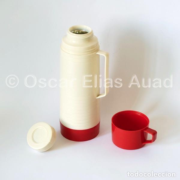 Vintage: Antiguo termo para líquidos. De tres piezas. Marca Aladdin Dura-Clad, Made in U.S.A. - Foto 4 - 64840995