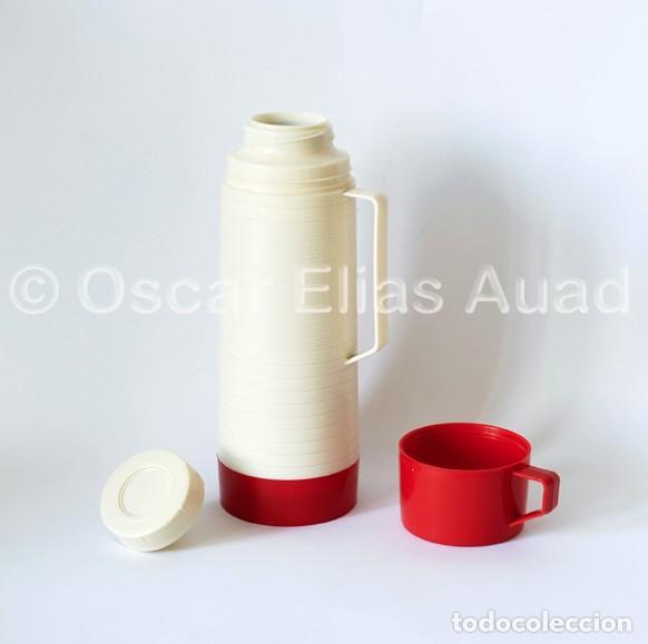 Vintage: Antiguo termo para líquidos. De tres piezas. Marca Aladdin Dura-Clad, Made in U.S.A. - Foto 5 - 64840995
