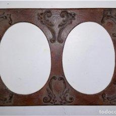 Vintage: MARCO DOBLE DE RESINA. Lote 65807082