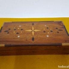 Vintage: CAJA DE MADERA.. Lote 65843286