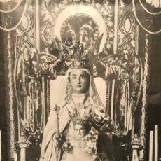 Vintage: ANTIGUA LAMINA O IMPRESIÓN ENMARCADA DE LA VIRGEN NUESTRA SEÑORA DE LA MERCED. AÑOS 40'S O 50'S. Lote 65925526