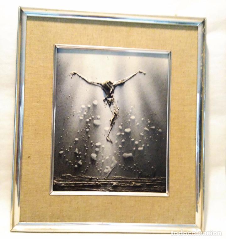 cristo en relieve enmarcado - marco 38 x 45 cm - Comprar en ...