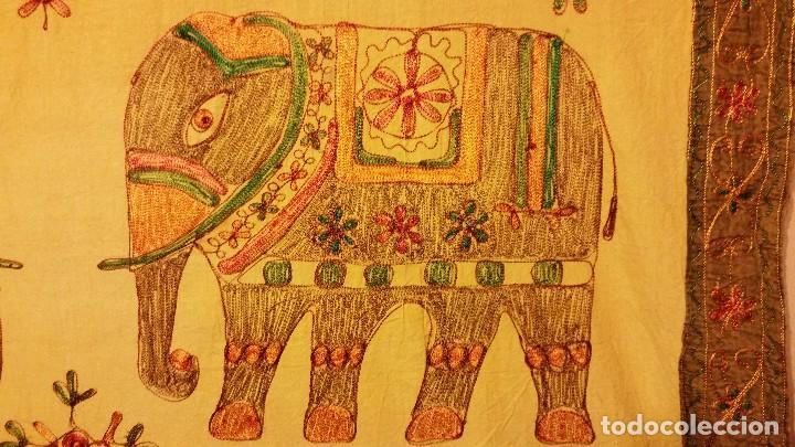 Vintage: Tapiz de pared indio - Foto 2 - 66971878
