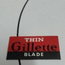 Vintage: HOJA DE AFEITAR GILLETTE BLADE VINTAGE. Lote 67763026