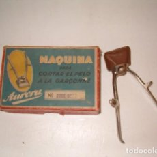 Vintage: AURORA. MÁQUINA PARA CORTAR EL PELO A LA GARÇONNE. RMT77734.. Lote 68584269