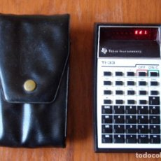 Vintage: CALCULADORA LEDS TEXAS INSTRUMENTS TI33 TI-33. Lote 69085193