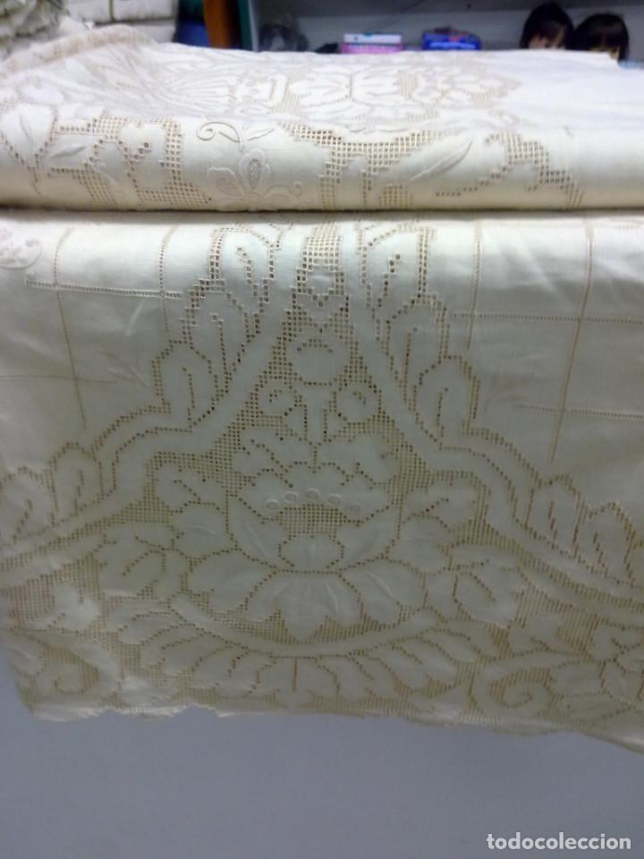 Vintage: mantelerias bordadas años 60( ENVIO GRATIS) - Foto 2 - 70430725