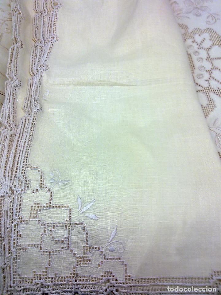 Vintage: mantelerias bordadas años 60( ENVIO GRATIS) - Foto 4 - 70430725