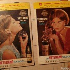 Vintage: VETERANO PUBLICIDAD AÑOS 60. Lote 71945462