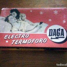 Vintage: DAGA - ELECTRO TERMÓFORO- ALMOHADA ELÉCTRICA 4 TEMPERATURAS. Lote 72987803