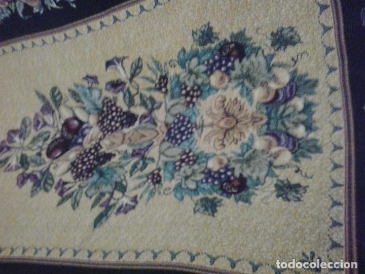 Vintage: Manta sofa ,chenilla, con fleco 1980 - Foto 3 - 73045691