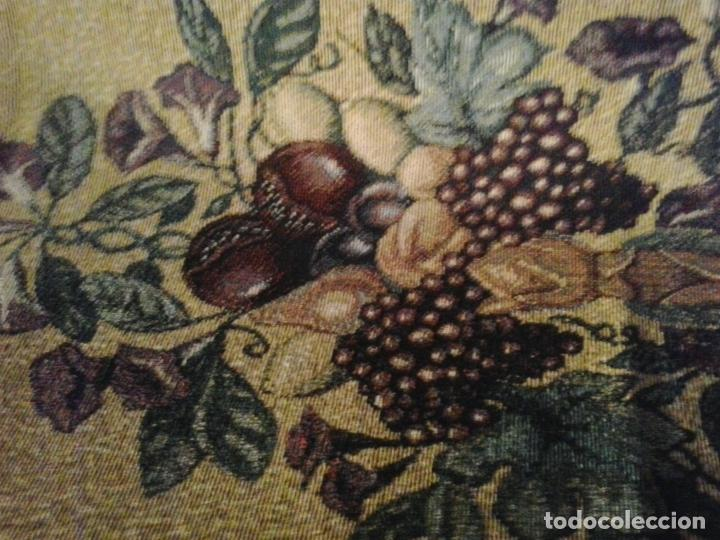 Vintage: Manta sofa ,chenilla, con fleco 1980 - Foto 6 - 73045691