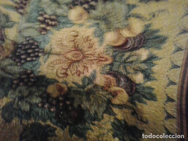 Vintage: Manta sofa ,chenilla, con fleco 1980 - Foto 7 - 73045691
