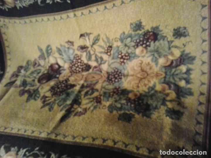 Vintage: Manta sofa ,chenilla, con fleco 1980 - Foto 8 - 73045691