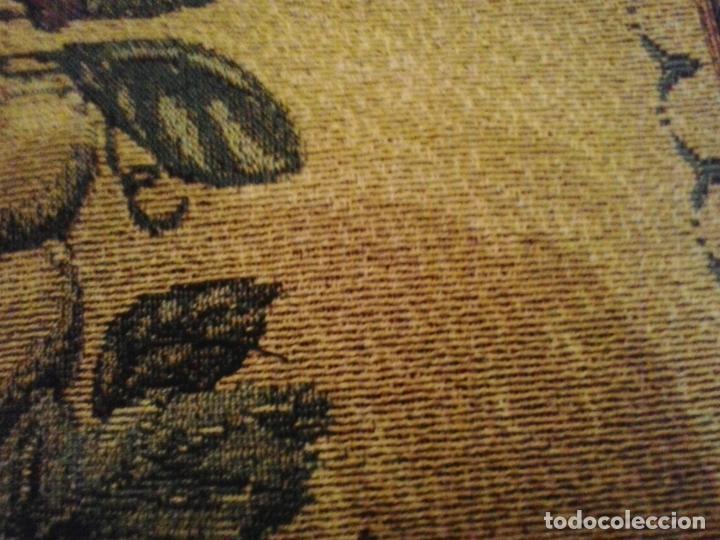Vintage: Manta sofa ,chenilla, con fleco 1980 - Foto 9 - 73045691