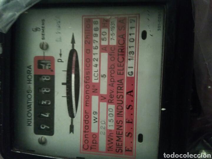 Vintage: Contador electricidad antiguo Siemens - Foto 5 - 74569935