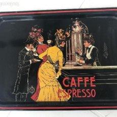 Vintage: BANDEJA SERIGRAFÍADA VINTAGE, CAFÉ ESPRESSO.. Lote 75289927
